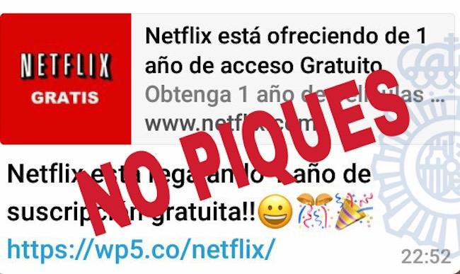 bulo por whatsapp netflix
