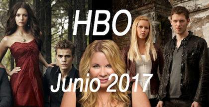 Entradas a HBO en junio de 2017