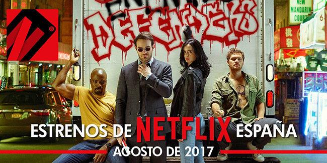 Netflix agosto 2017: estrenos de series y películas en España