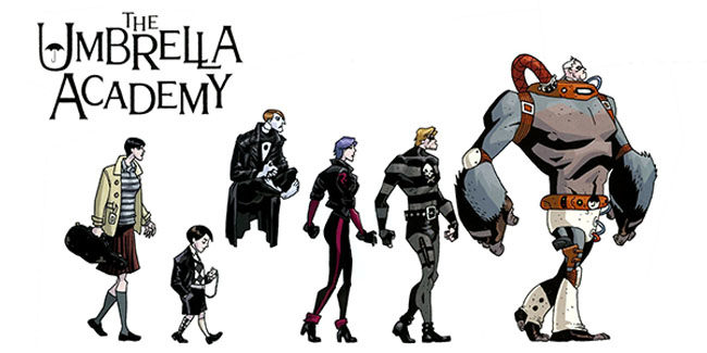 The Umbrella Academy llega en formato live action a Netflix