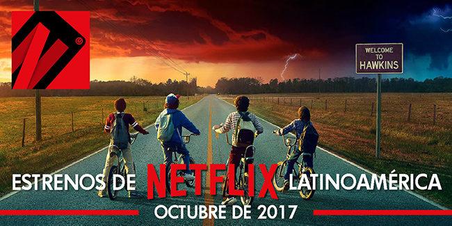 Netflix, estrenos en octubre de 2017 en Latinoamérica