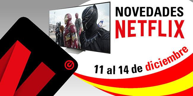 Novedades Netflix España: del 11 al 14 de diciembre de 2017