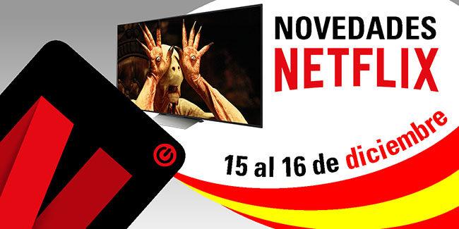 Novedades Netflix España: del 15 al 16 de diciembre de 2017