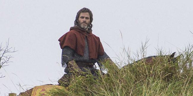 Outlaw King, Chris Pine en las primeras imágenes del filme de Netflix