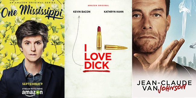 Amazon canceló One Mississippi, I Love Dick y Jean-Claude Van Johnson