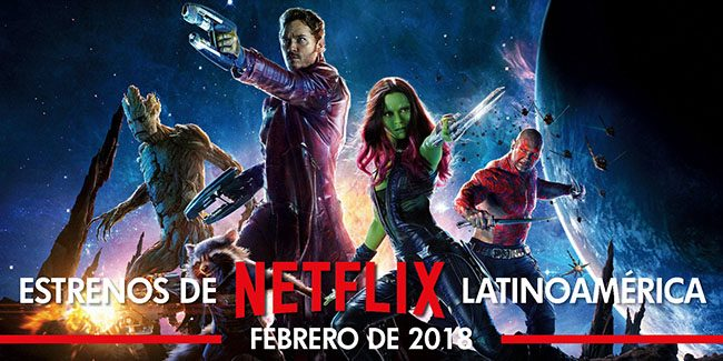 Netflix, estrenos en febrero de 2018 en Latinoamérica