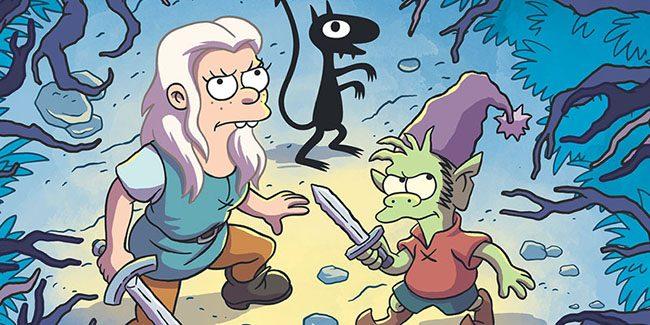 Disenchantment, la serie animada fantasy de Matt Groening por Netflix