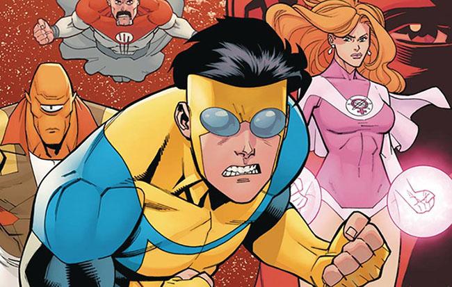 Invencible, del cómic de Kirkman a la serie de Amazon - Netflix Series