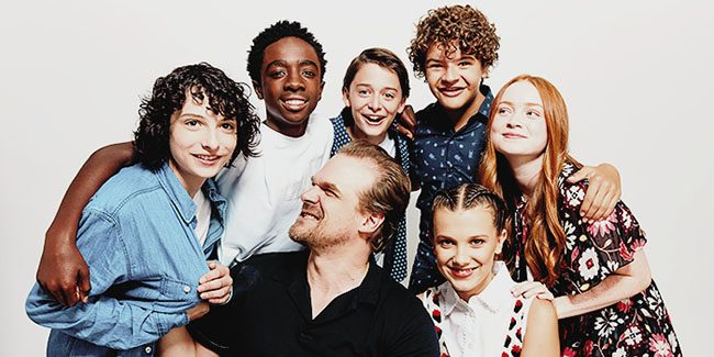 Stranger Things 3, fotografías del set