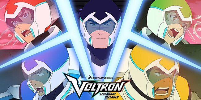 Voltron: Legendary Defender se concluirá en la temporada 8, tráiler en el Comic-Con