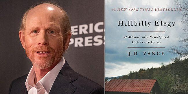 Ron Howard dirigirá Hillbilly Elegy, el nuevo film di Netflix