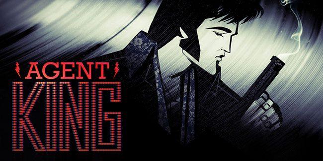 Agent King, Elvis Presley es un agente secreto en la serie animada de Netflix