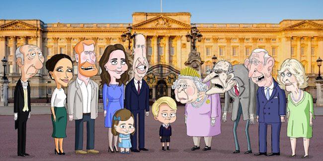 The Prince, por HBO Max, la serie animada sobre la familia real británica