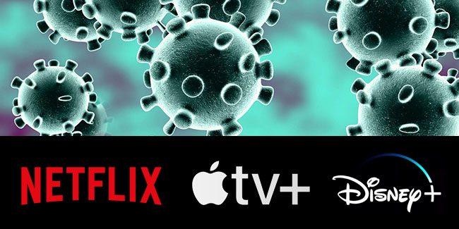 Se paran las producciones de Netflix, Apple TV+ y Disney+