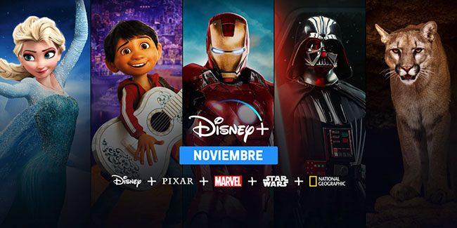 Disney+ llegará en noviembre a Latinoamérica